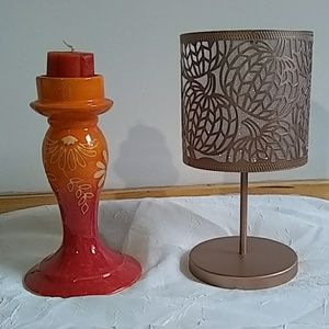 Yankee Candle holders (2)